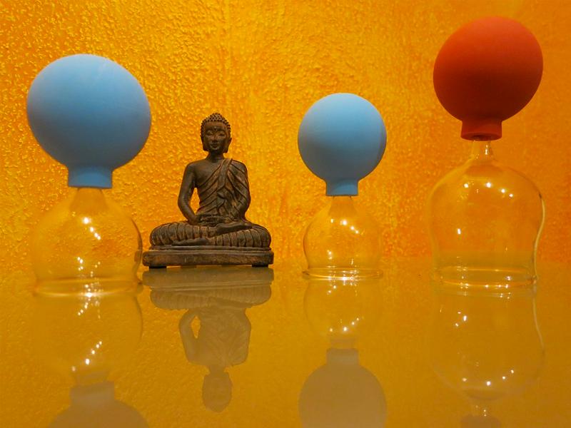 Cupping Holistische energetische therapie QiPong
